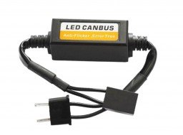Cancelador error canbus lampara LED H4