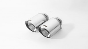 Cola de escape doble Remus 102mm INOX