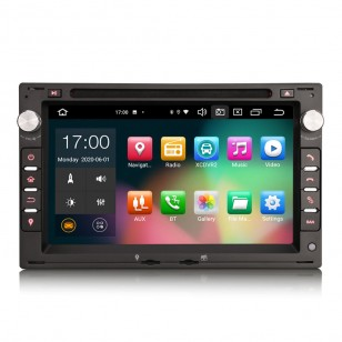 """Navegador 7"""" Android 10.0 + CARPLAY + ANDROID AUTO"""