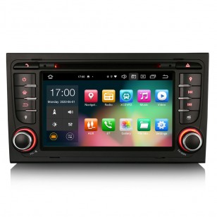 "Navegador 7"" Android 10.0 + CARPLAY + ANROID AUTO"