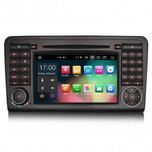 """Navegador 7"""" Android 10.0 CARPLAY + ANDROID AUTO  MERCEDES ML"""