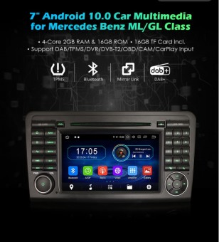 "7 ""Android 10.0 OS Car DVD..."