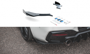 Flaps traseros RACING DURABILITY V.3 + FLAPS FOR BMW 1 F20 M-PACK FACELIFT / M140I